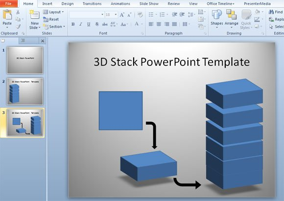 how to draw 3d shapes in powerpoint
