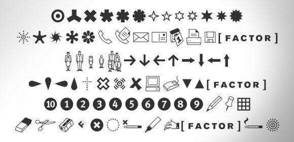 Free Dingbat Fonts That You Can Use For Powerpoint