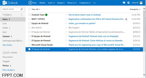edit outlook email template