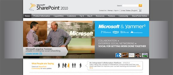 sharepoint 2013 site templates free - sharepoint and powerpoint 2010 powerpoint presentation