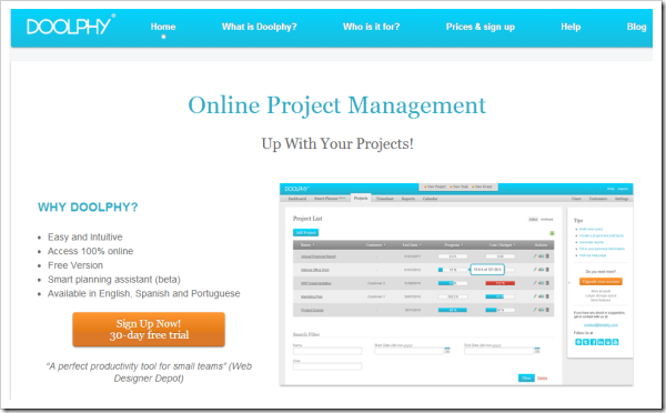 25 Most Important Online Project Management Apps | Techolo ...