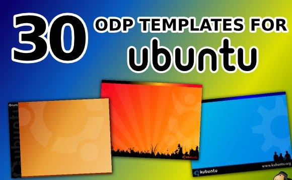open office presentation templates