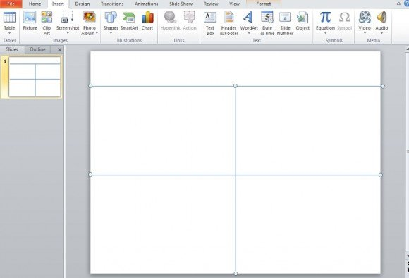 How to Make an Impressive Quad Chart in PowerPoint 2010 : PowerPoint ...