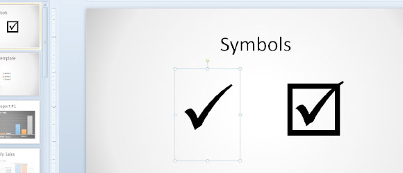 How to Insert a Tick Symbol in PowerPoint | PowerPoint Presentation