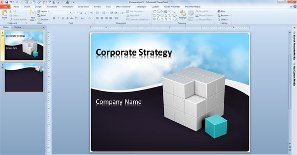 Free 3d Animated Powerpoint Presentation Templates 3d Animated