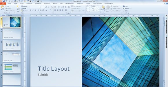 design templates for powerpoint 2013 - free glass cube marketing powerpoint 2013 template