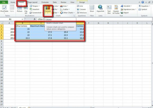 how to put power of 2 in excel