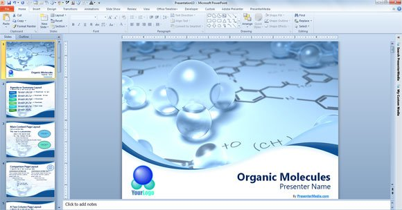 Free Scientific PowerPoint Template | PowerPoint Presentation