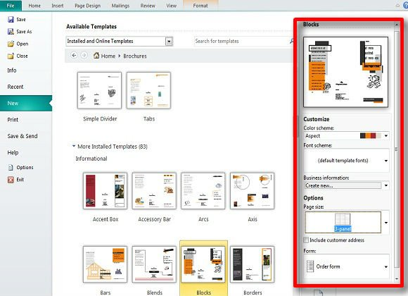 Making and Publishing Brochures with Publisher | PowerPoint ...