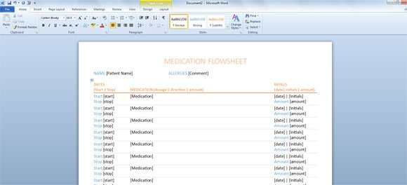 Word Document Template Template For Word 2013