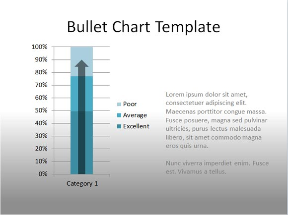 Sample Chart Templates gauge chart template : Using Bullet Charts in PowerPoint to Replace Gauges : PowerPoint ...