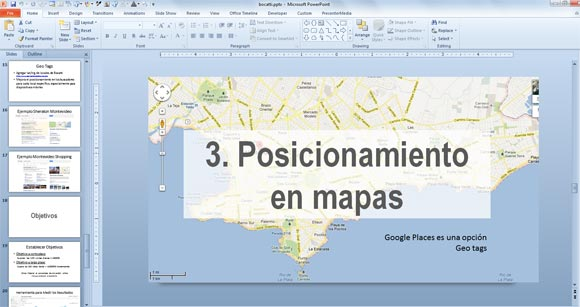 preparing a multi language powerpoint presentation