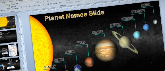 powerpoint presentation on planets - photo #21