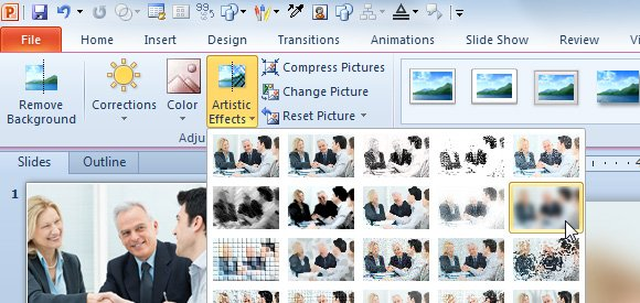 how to make an image into powerpoint slide background