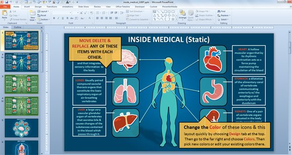 Free medical animated powerpoint templates toneelgroepblik Images
