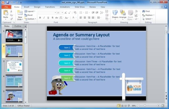 PowerPoint Presentation Sample | Flickr - Photo Sharing!