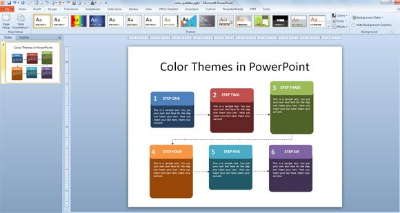 we will see how to prepare a simple PowerPoint template using custom ...