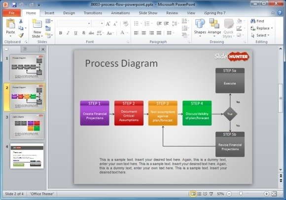 How To Make A Flowchart in PowerPoint : PowerPoint Presentation