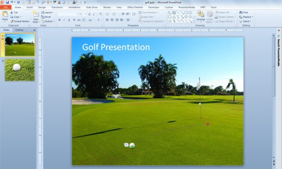 ... With Graphics Using PowerPoint Template | PowerPoint Presentation