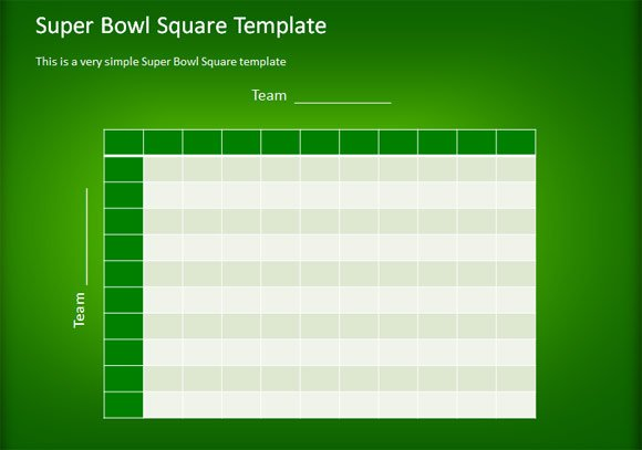 Super bowl football squares free download messagepriority for Free super bowl pool templates