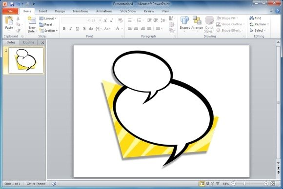 Useful bubbles shapes for powerpoint presentations for Comic book template powerpoint