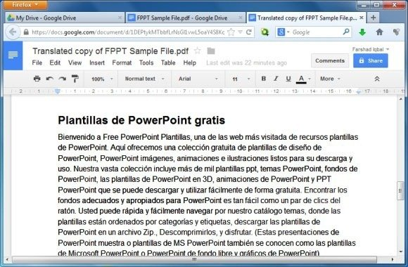 how to translate a pdf file to another language