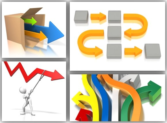 PowerPoint Arrow Templates And - 77.5KB