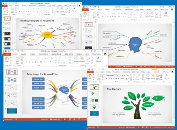 Concept Map Templates For PowerPoint | PowerPoint Presentation