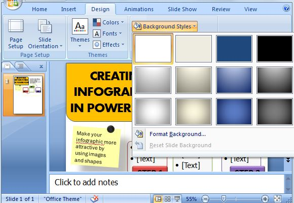 how to change slide orientation to portrait in powerpoint 2013