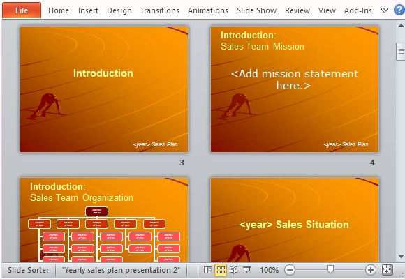 power point presentation samples sales proposal auto electrical
