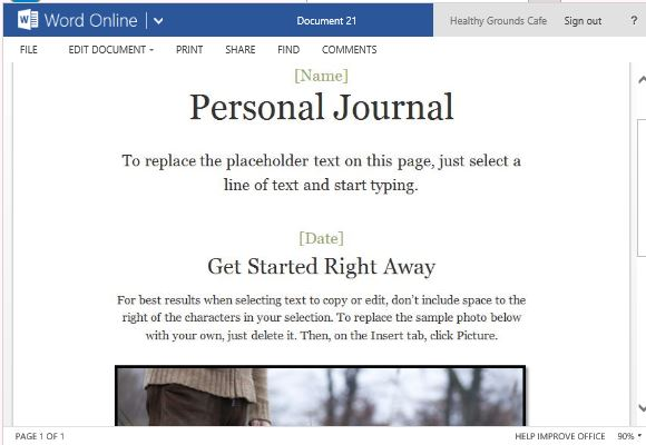 Weekly Writing Journal Template: Weekly Digital Writing Journal ...