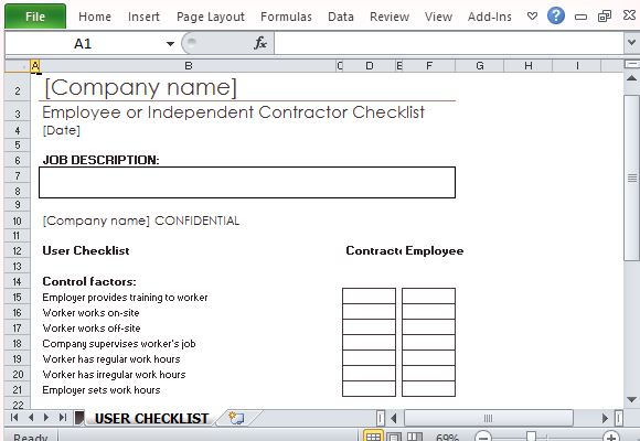 independent contractor timesheet