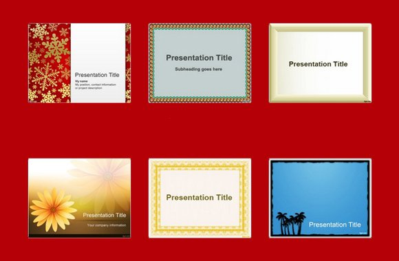 Top 10 Powerpoint Templates