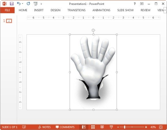 Signature Hand Clipart Hole Hand Number Five Clipart