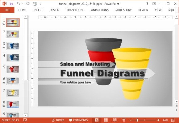 animated funnel diagrams powerpoint template powerpoint presentation. Black Bedroom Furniture Sets. Home Design Ideas