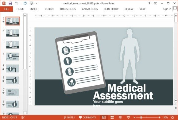 Animated Medical Field Powerpoint Templates