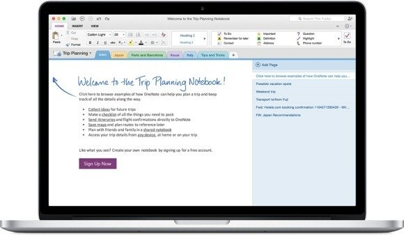 How to Create a OneNote Calendar Template  MakeUseOf