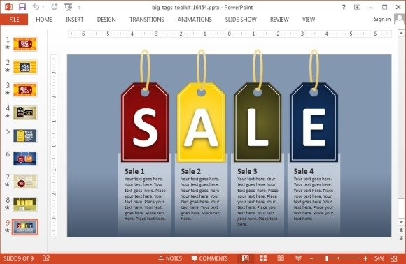 Animated Sales PowerPoint Template For Presentations ...