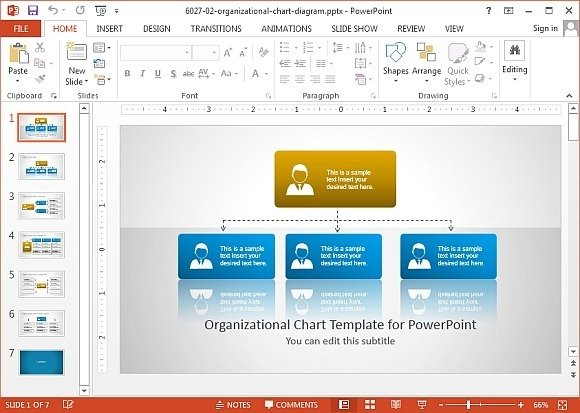 free templates for organizational charts - best methods for creating accurate organizational charts