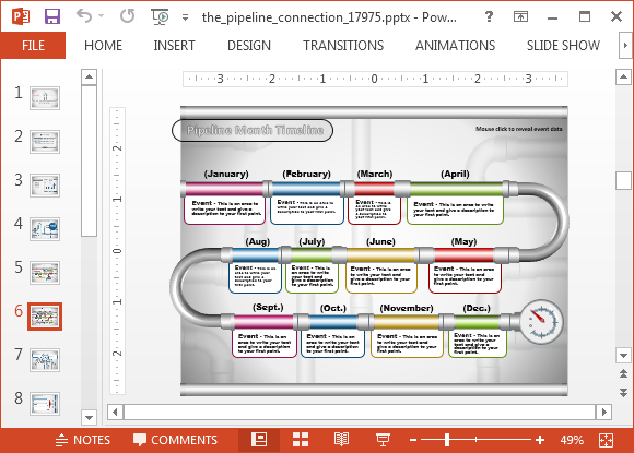 pipeline management template