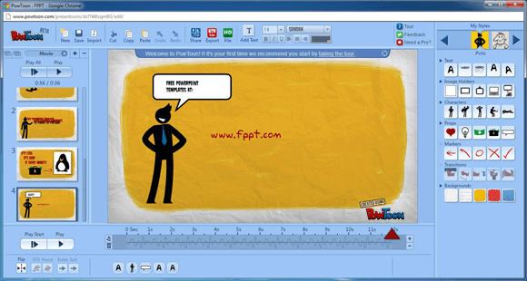 Online PowerPoint maker - emaze is the solution, and it's free
