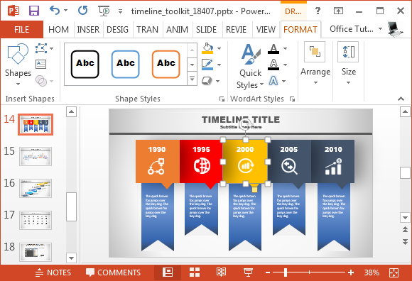 how to change theme colors in powerpoint mac