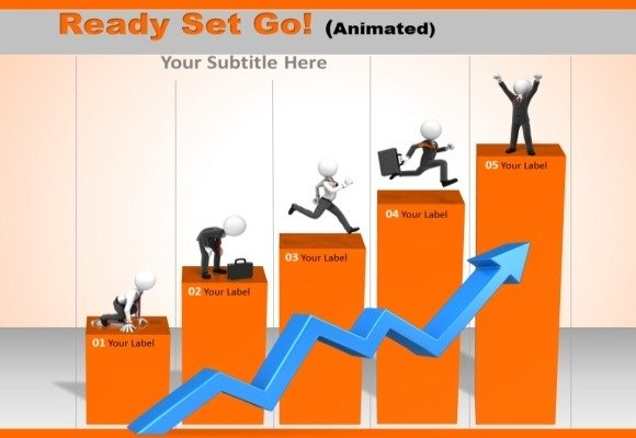 Ready Set Go PowerPoint Template